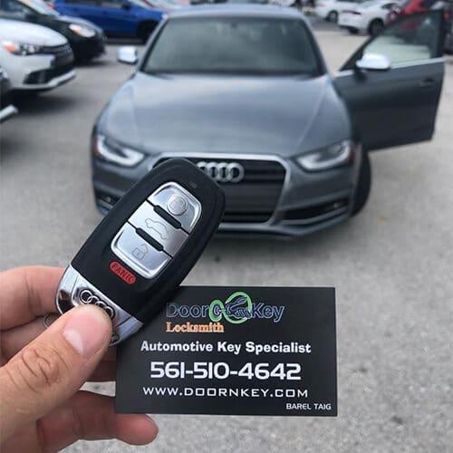 Door N Key Locksmith - Audi Car Keys Made